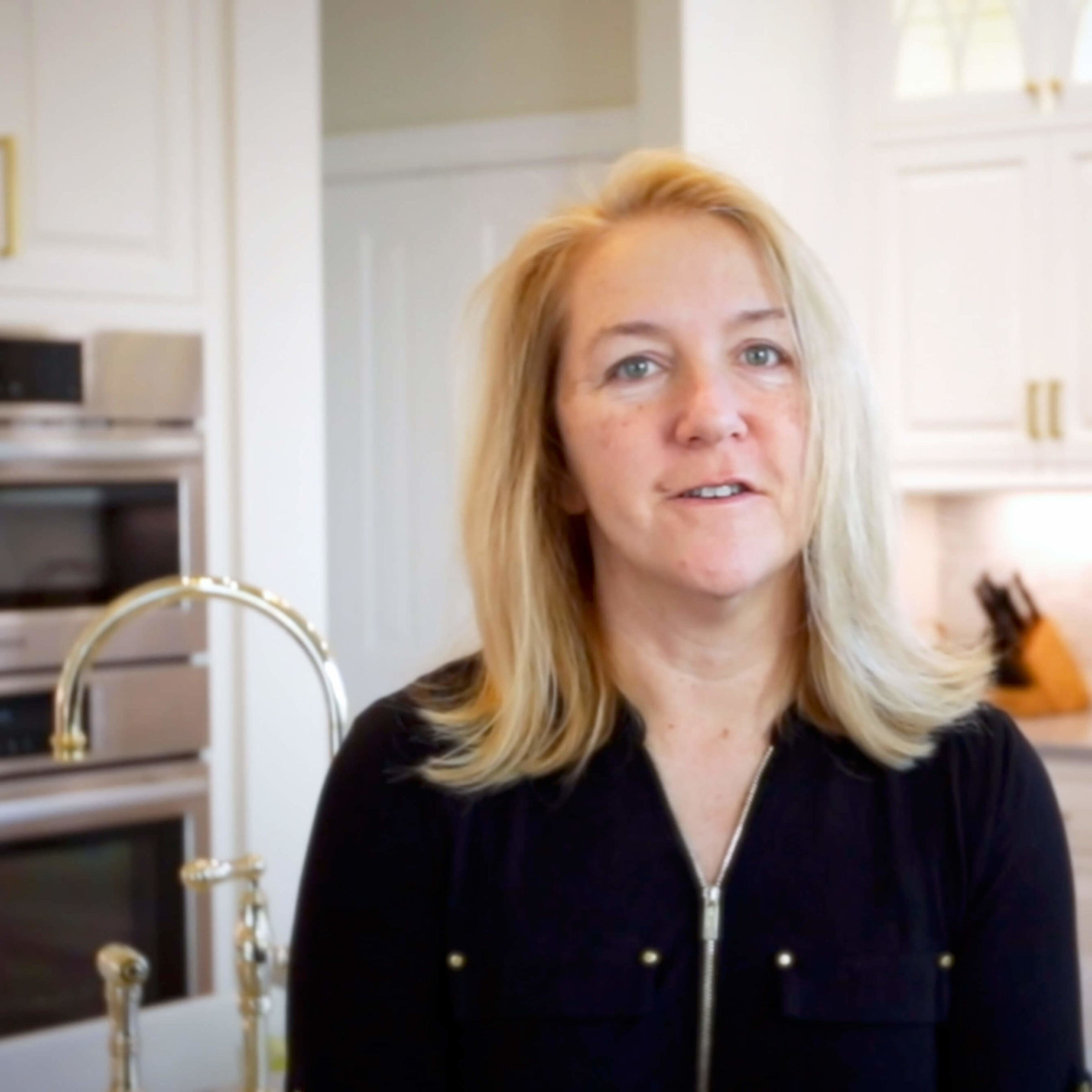 Homeowner Karen Zoccoli shares why she loved working with Viking Kitchens Designer Larry Pelletier to remodel her kitchen and bathroom.