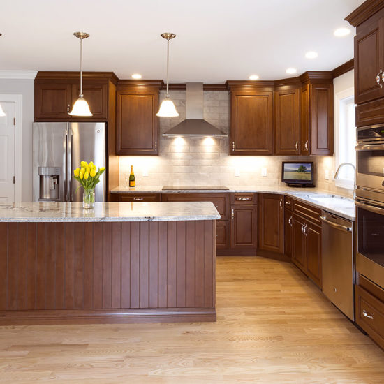 Kitchen Remodel With Decorative End Panels Viking Kitchen Cabinets