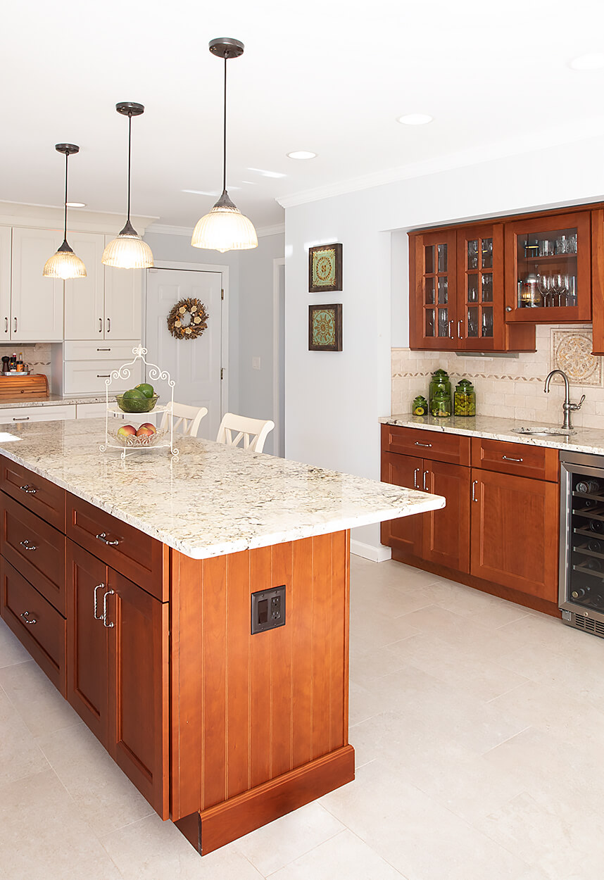 Kitchen Cabinet With Bar Counter Prospect   Counter and Wet Bar | Viking Kitchen Cabinets