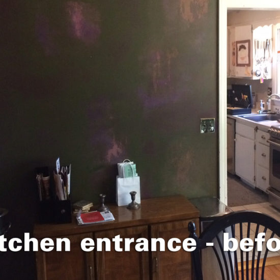 Sheridan Kitchen – entrance before
