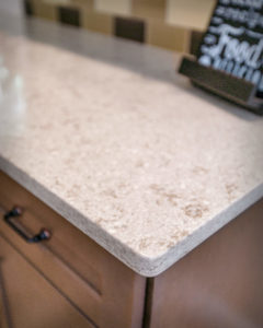 South Windsor kitchen remodel counter and edge detail
