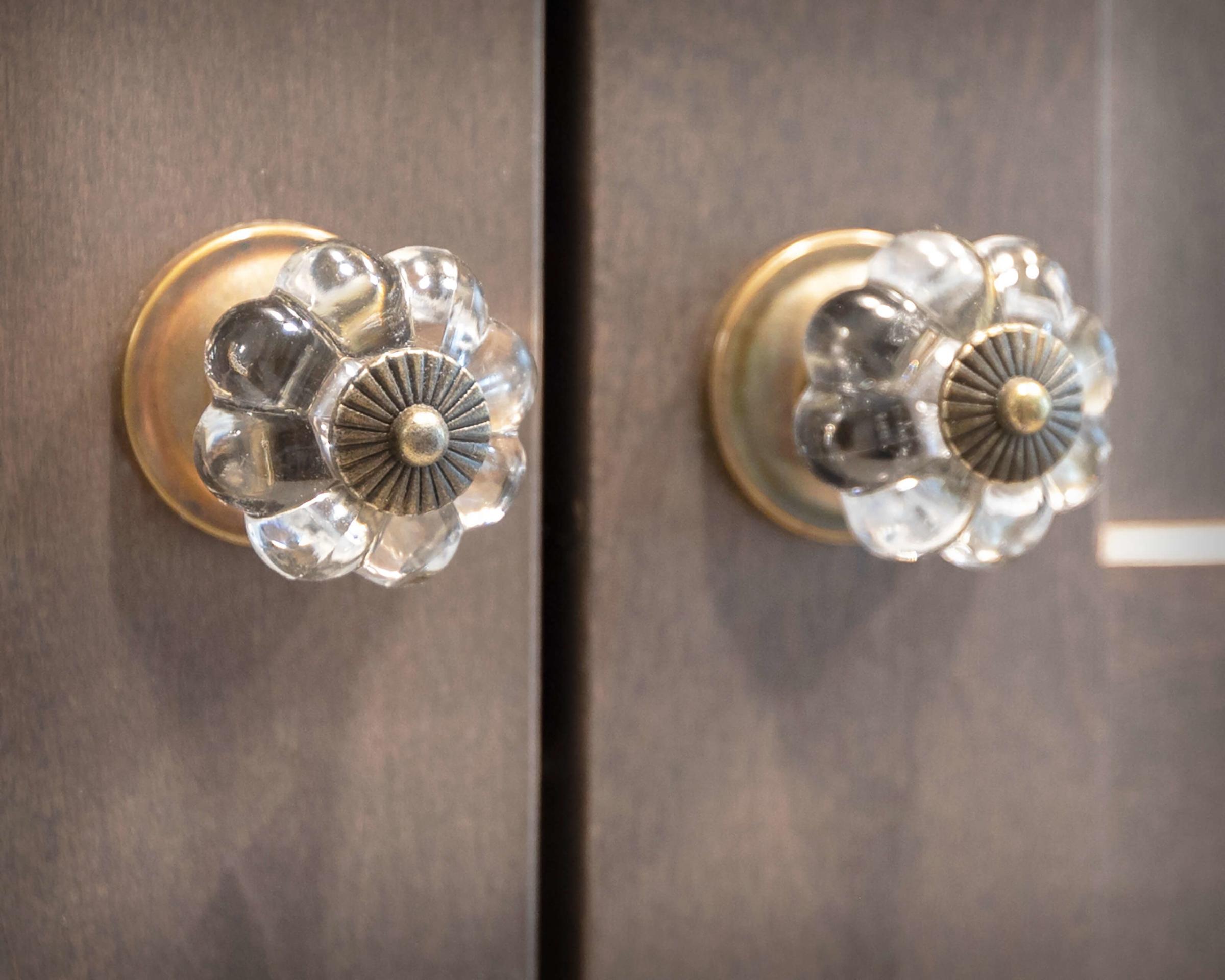 South Windsor kitchen remodel hardware detail