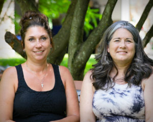 South Windsor contractor Michelle Rice (left) and homeowner Amy Marrotte-Dubiel (right) describe why they loved working with Roberta Melotto on this kitchen remodel project