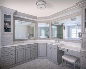 Higganum bathroom remodel.