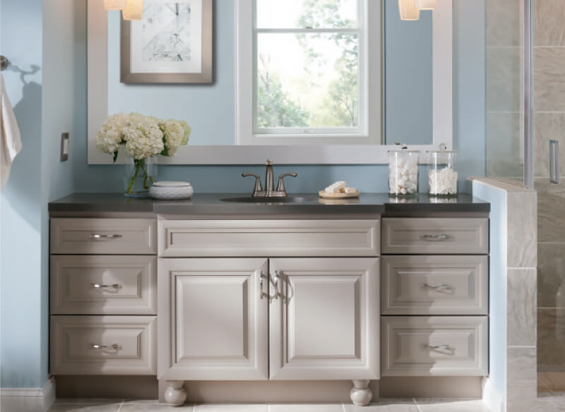 Vanity Homecrest Viking Kitchen Cabinets